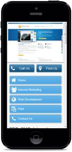 iPhone Mobile Website